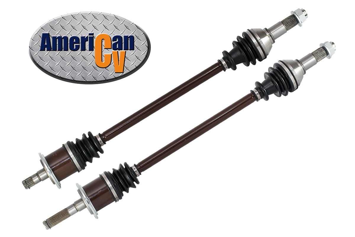 4x4 Front Axle Assembly : Can am maverick max front complete axle set
