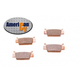 HONDA TRX 500 TRX 680 FRONT HEAVY DUTY SINTERED ATV BRAKE PAD SET