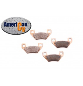 2005 ARCTIC CAT 250 4X4 FRONT HEAVY DUTY SINTERED ATV BRAKE PAD SET