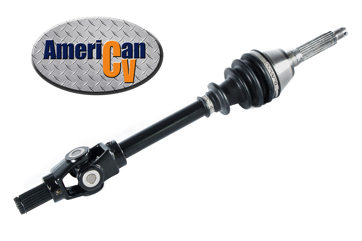 2004 polaris sportsman 500 4x4 late model male spline yoke front cv axle