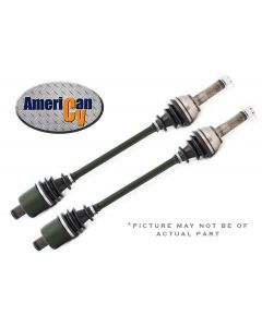 Fits 2014 HONDA RANCHER TRX 420 4X4 FRONT RUGGED TERRAIN ATV CV AXLE SET - with IRS