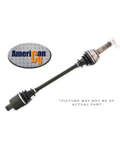 Fits 2014 HONDA RANCHER TRX 420 4X4 FRONT RUGGED TERRAIN ATV CV AXLE - with IRS